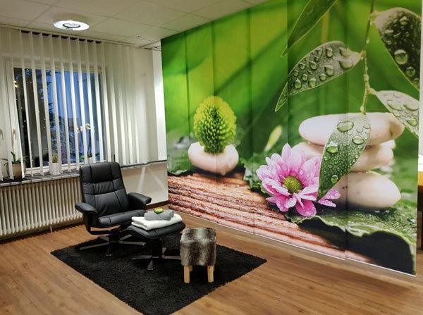 Raumteiler Behandlungszimmer