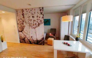 Raumteiler Abtrennung Schlafzimmer Ferienwohnung